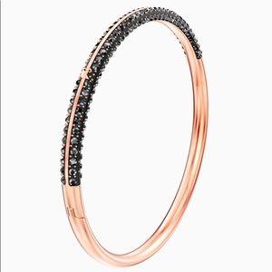 Swarovski Rose Gold and Black Bracelet (Jewelry)